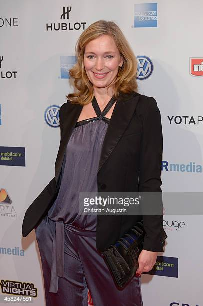 Katja Weitzenboeck attends networking event 'Movie meets Media' at Hotel Atlantic on December 2 2013 in Hamburg Germany