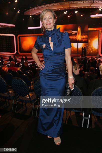 Katja Weitzenboeck attends the German TV Award 2012 at Coloneum on October 2 2012 in Cologne Germany
