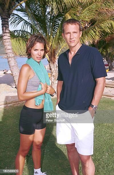 "Katja Woywood, Andreas Brucker,;ZDF-Reihe ""Traumschiff"", Folge 37 ""Sydney"", ""Olympia""-Special, Australien, , ;Hamilton Island, Hotel ""Reef;View"",..."
