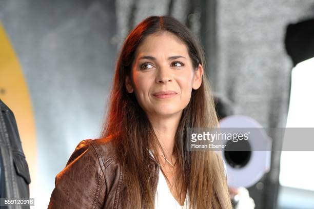 Katja Woywood attends the 'Alarm fuer Cobra 11' fan meeting on October 8 2017 in Huerth Germany