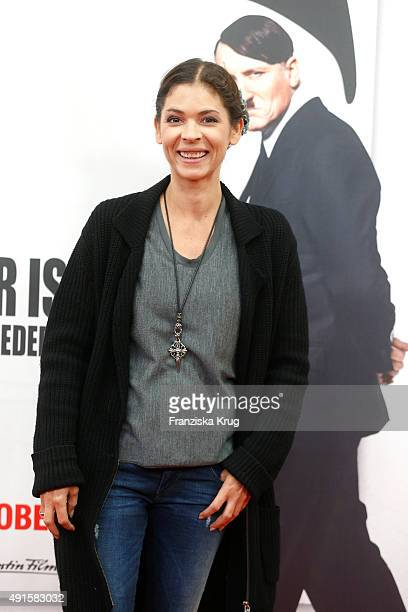 Katja Woywood attends the 'Er ist wieder da' World Premiere on October 06 2015 in Berlin Germany