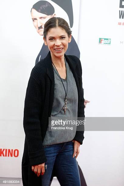 Katja Woywood attends the 'Er ist wieder da' World Premiere on October 06, 2015 in Berlin, Germany.
