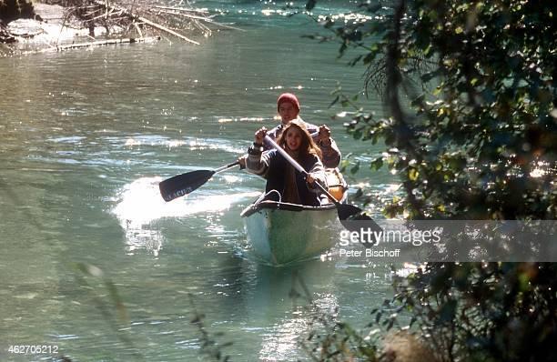 'Katja Woywood Christopher L Barker ZDFFilm ''Ein unvergeßliches Wochenende in Kanada'' am in Nationalpark in den Rocky Mountains in British Columbia...