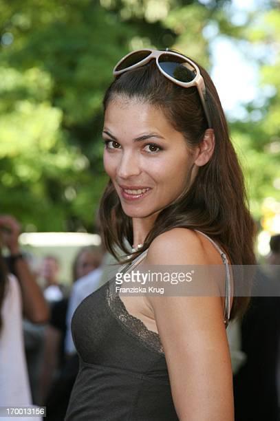 Katja Woywood In When receiving Bavaria Munich Film Festival In The Park Munich Bavaria Film.
