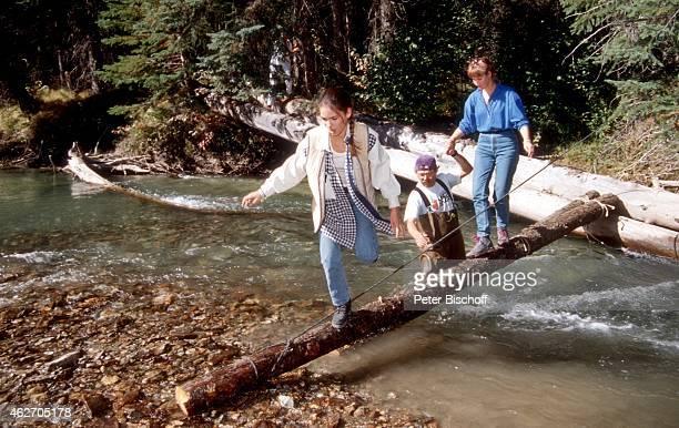 'Katja Woywood ZDFFilm ''Ein unvergeßliches Wochenende in Kanada'' am in Nationalpark in den Rocky Mountains in British Columbia Kanada '