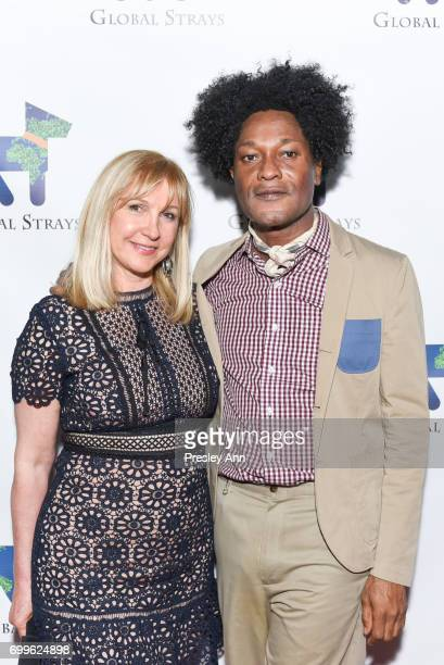 Katlean De Monchy and Ike Ude attend Elizabeth Shafiroff and Lindsey Spielfogal Host the First Annual Global Strays Fund Raising Party at Rumpus Room...