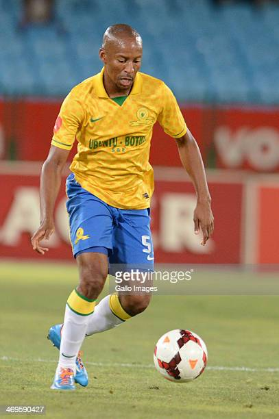 Katlego Mashego during the Absa Premiership match between Mamelodi Sundowns and Ajax Cape Town at Loftus Stadium on February 15 2014 in Pretoria...
