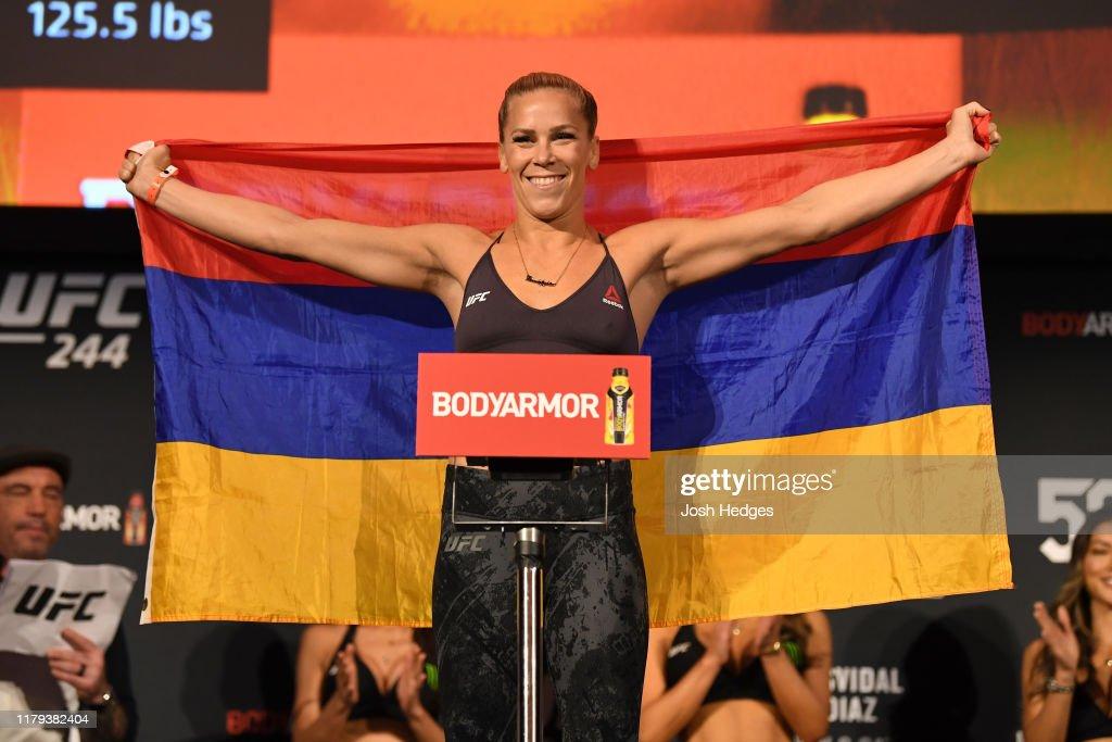 UFC 244: Weigh-Ins : News Photo