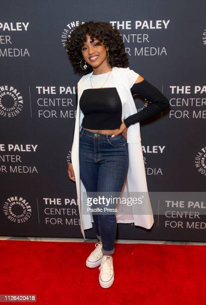 Katlyn Nichol attends an evening with BET's American Soul at Paley Center for Media