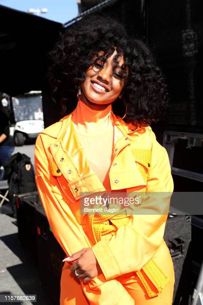 Katlyn Nichol attends BET Experience Live Sponsored By CocaCola at LA Live on June 22 2019 in Los Angeles California