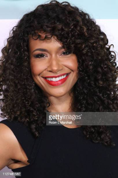 Katlyn Nichol attends BET's American Soul Red Carpet at Wolf Theatre on February 04 2019 in North Hollywood California