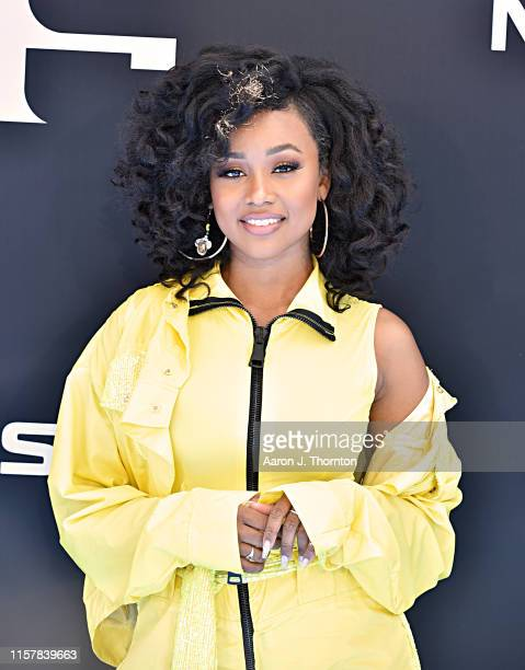 Katlyn Nichol attends the 2019 BET Awards at Microsoft Theater on June 23, 2019 in Los Angeles, California.