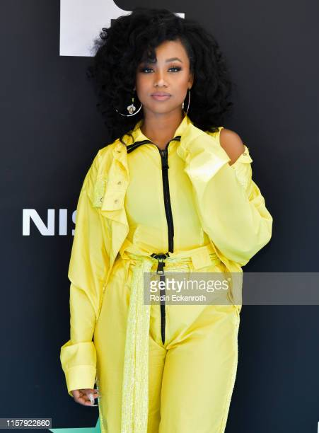 Katlyn Nichol attends the 2019 BET Awards on June 23, 2019 in Los Angeles, California.