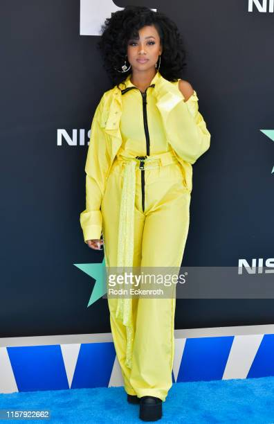 Katlyn Nichol attends the 2019 BET Awards on June 23 2019 in Los Angeles California