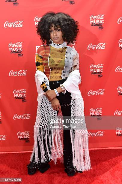 Katlyn Nichol attends the 2019 BET Experience CocaCola Music Stage at Los Angeles Convention Center on June 21 2019 in Los Angeles California
