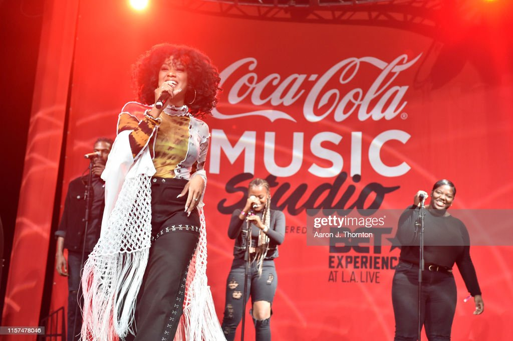 2019 BET Experience - Coca-Cola Music Stage - Day 1 : News Photo