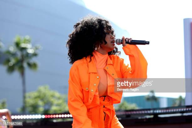 Katlyn Nichol performs onstage during the BET Experience Live Sponsored By CocaCola at LA Live on June 22 2019 in Los Angeles California