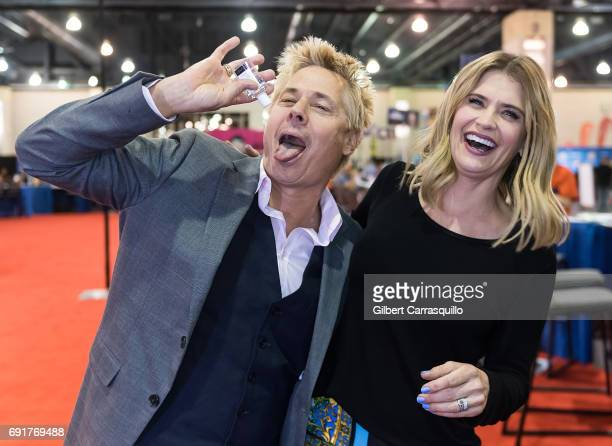 Kato Kaelin and actress Kristy Swanson attend Wizard World Comic Con Philadelphia 2017 - Day 2 at Pennsylvania Convention Center on June 2, 2017 in...