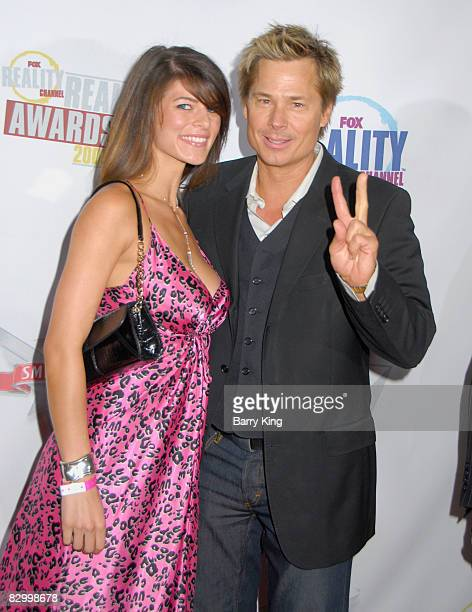 Kato Kaelin and guest arrives at the Fox Reality Channel's Really Awards held at Avalon Hollywood on September 24 2008 in Hollywood California