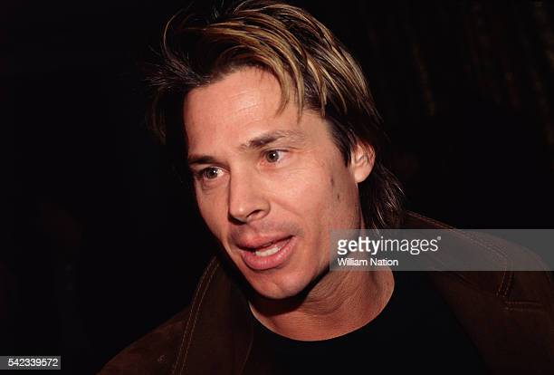 Kato Kaelin during the trial of American former football player and actor OJ Simpson Simpson is accused of murdering his wife Nicole Brown and her...