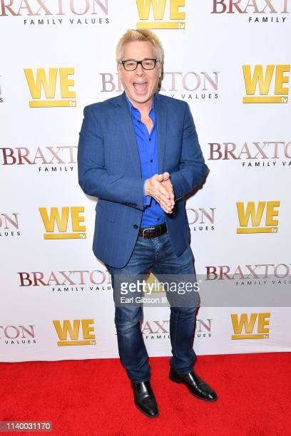"Kato Kaelin is seen as We TV celebrates the premiere of ""Braxton Family Values"" at Doheny Room on April 02, 2019 in West Hollywood, California."