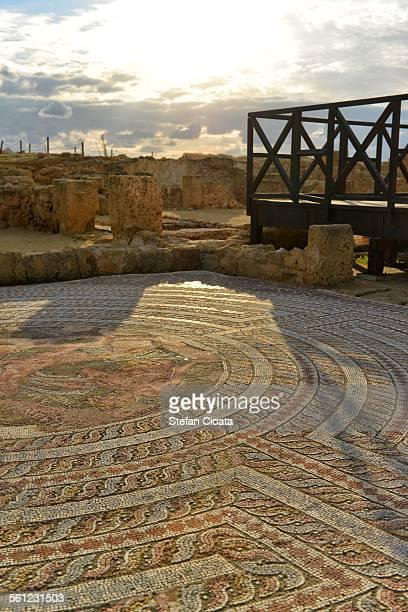 kato paphos mosaic - パフォス ストックフォトと画像