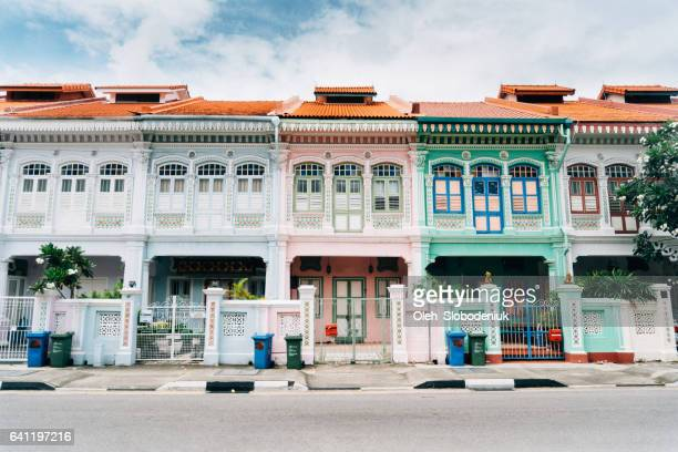 Katong district in Singapore
