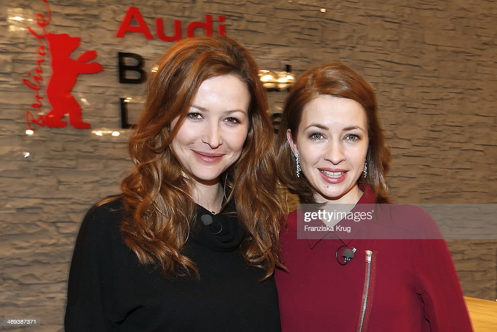 Katrin Bauerfeind and Laura Osswald attend the Audi Lounge Day 9 - Audi At The 64th Berlinale International Film Festival at Berlinale Palast on February 14, 2014 in Berlin, Germany.