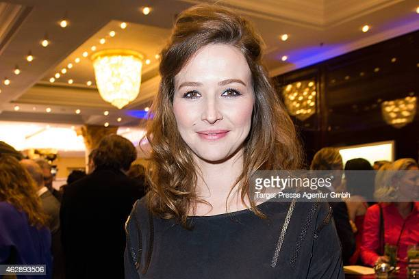 Katrin Bauerfeind attends Movie Meets Media at Ritz Carlton on February 6 2015 in Berlin Germany