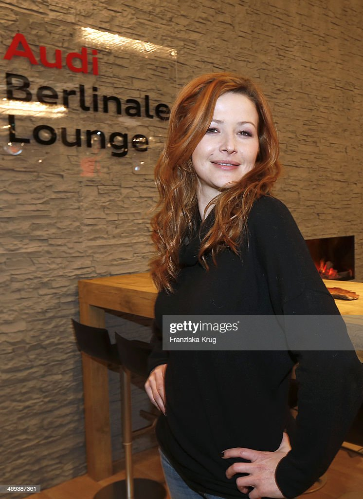 Katrin Bauerfeind attends the Audi Lounge Day 9 - Audi At The 64th Berlinale International Film Festival at Berlinale Palast on February 14, 2014 in Berlin, Germany.