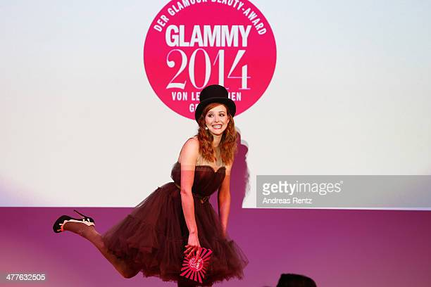 Katrin Bauerfeind attends the Glammy Award by Glamour Magazine on March 6 2014 in Munich Germany