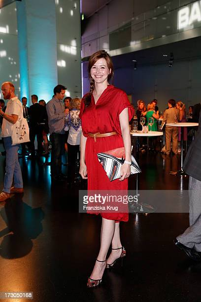 Katrin Bauerfeind attends the Munich Film Festival 2013 'Foerderpreis Neues Deutsches Kino' at BMW Museum on July 05 2013 in Munich Germany