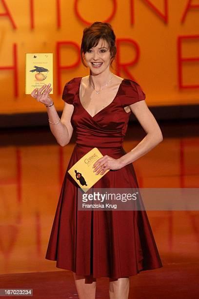 Katrin Bauerfeind Bei Der Verleihung Des 'Corine Internationaler Buchpreis' Im Prinzregententheater In München