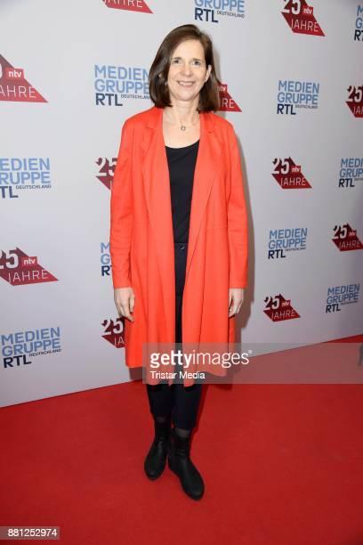 Katrin GoeringEckardt attends the 25 years anniversary ntv event at Bertelsmann Repraesentanz on November 28 2017 in Berlin Germany