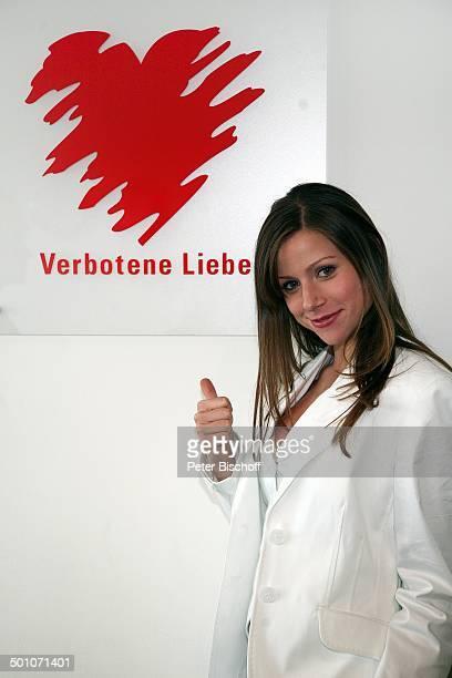 Katrin Hess ARDDailySoap Verbotene Liebe Köln NordrheinWestfalen Deutschland Europa Backstage Logo Schauspielerin Promi NB E PNr 1334/2008 Foto...