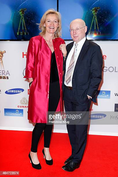 Katrin HinrichsAust and Stefan Aust attend the Goldene Kamera 2015 on February 27 2015 in Hamburg Germany
