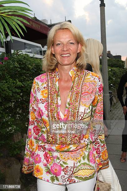 Katrin HinrichsAust at the Island Island Party Meets in Kampen In Local Pony On The Island of Sylt