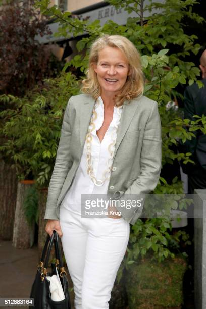 Katrin Hinrichs-Aust attends the 'Krug Kiosk' Event on July 11, 2017 in Hamburg, Germany.