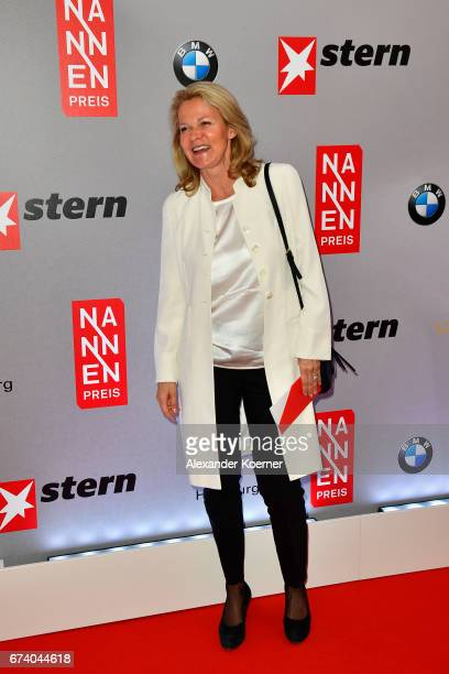 Katrin Hinrichs-Aust attends the Nannen Award 2017 on April 27, 2017 in Hamburg, Germany.
