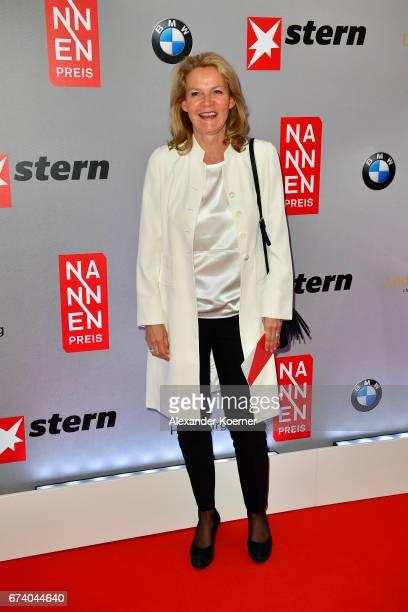 Katrin HinrichsAust attends the Nannen Award 2017 on April 27 2017 in Hamburg Germany