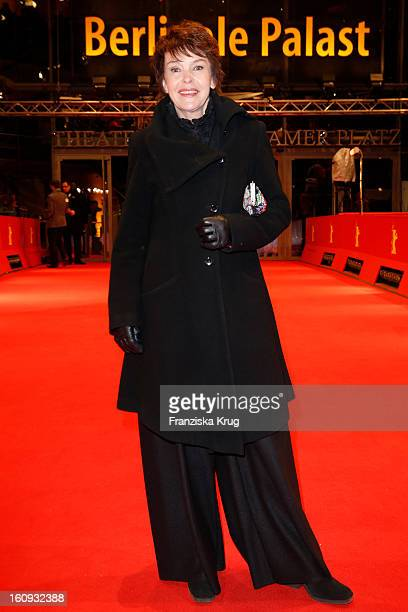 Katrin Sass arrives at the 'The Grandmaster' Premiere - BMW At The 63rd Berlinale International Film Festival at the Berlinale Palast on February 7,...