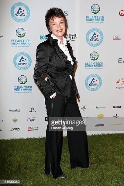 Katrin Sass attends the Clean Tech Media Award at Tempodrom on September 7, 2012 in Berlin, Germany.