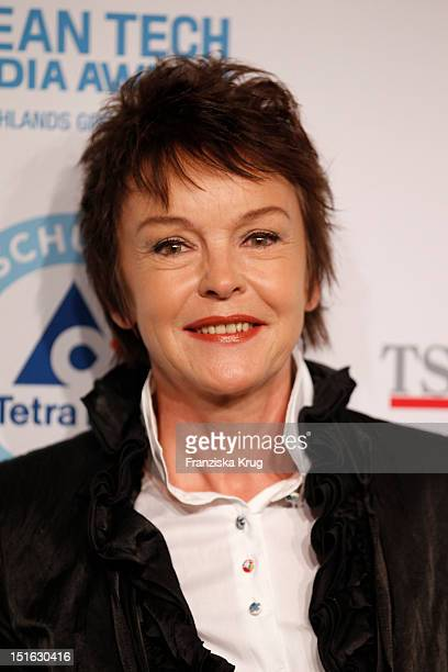 Katrin Sass attends the Clean Tech Media Award at Tempodrom on September 7 2012 in Berlin Germany