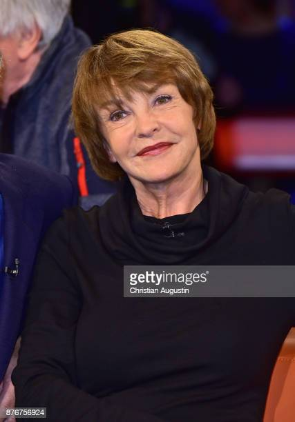 Katrin Sass attends the NDR Talkshow at on November 17 2017 in Hamburg Germany