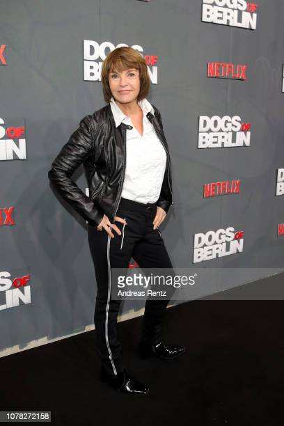 Katrin Sass attends the premiere of the Netflix Original Series 'Dogs of Berlin' at Kino International on December 06 2018 in Berlin Germany