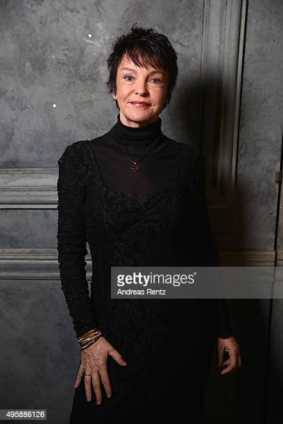 Katrin Sass is seen backstage at the GQ Men of the year Award 2015 at Komische Oper on November 5 2015 in Berlin Germany