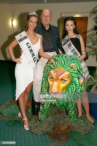 Katrin Schwarz Erich Reindl Valeria Bystritskaia Teilnehmerinnen der Queen of the worldWahl 2006 Finale der Queen of the worldWahl 2006 Spa und...