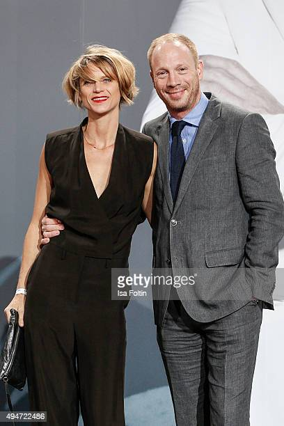 Katrin von Buehlow and Johann von Buelow attend the 'Spectre' German Premiere on October 28, 2015 in Berlin, Germany.