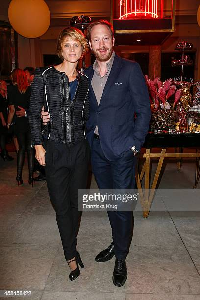 Katrin von Buelow and Johann von Buelow attend the Re-Opening of the 'La Banca' restaurant at Hotel de Rome on November 05, 2014 in Berlin, Germany.