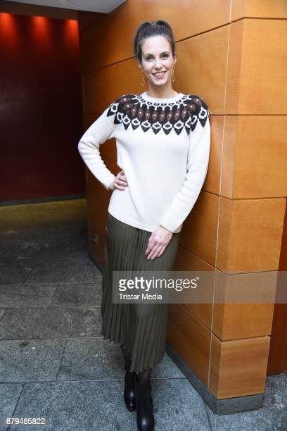 Katrin Wrobel attends a photocall for 'Shop the look' on November 26 2017 in Berlin Germany